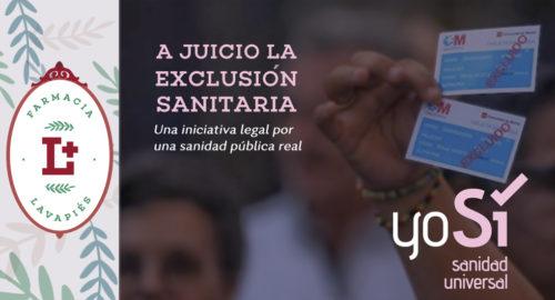 Acciones legales contra la exclusión sanitaria universal publica