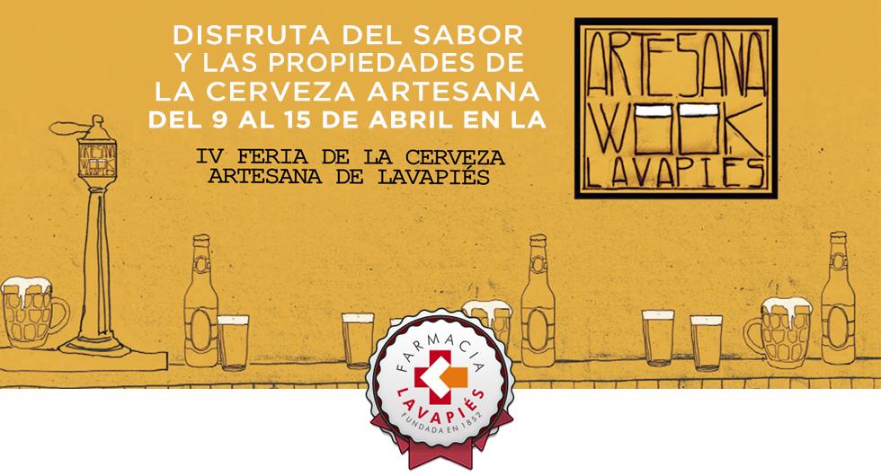Feria de la cerveza artesana en Lavapies, buen sabor y buenas propiedades