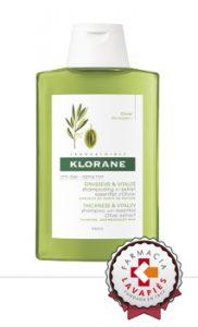 Nuevo champú Klorane con estracto de olivo combate envejecimiento cabello