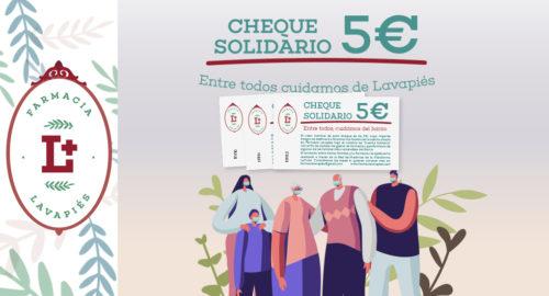 Cheque solidario ayuda familias barrio situacion vulnerable Covid-19