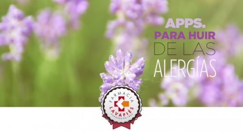 Aplicaciones móviles que te ayudan a evitar el polen y las alergias estacionales en Farmacia Lavapiçés