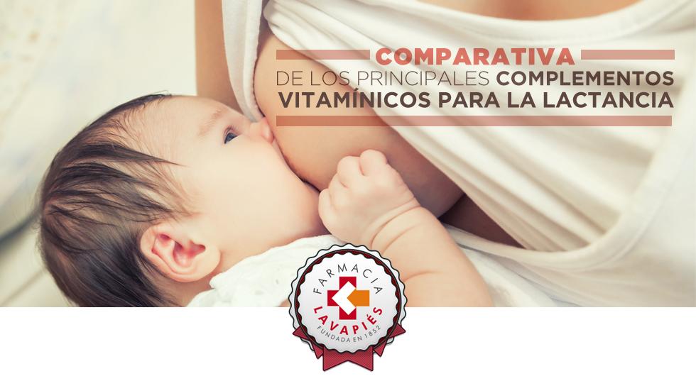 Comparamos los componentes de los dos principales complementos vitaminicos para la lactancia