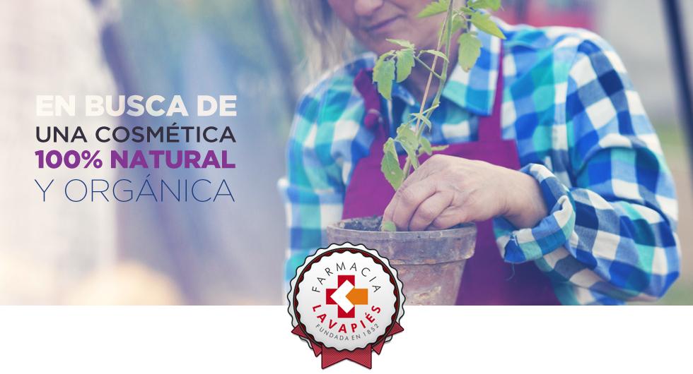 Cosmética natural y orgánica y certificada