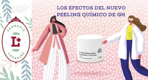 Efectos del nuevo peeling quimico de gh