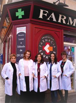Equipo farmacéutico de Farmacia Lavapiés