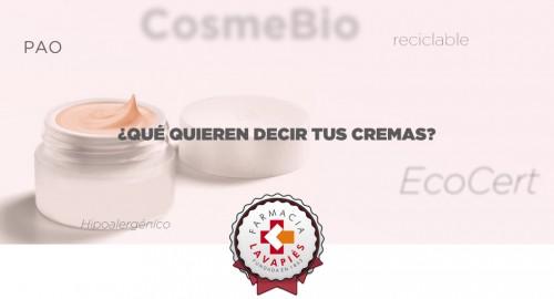 Entender el etiquetado de cosméticos