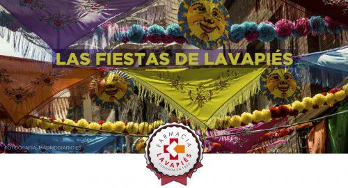Fiestas Lavapiés en agosto por San Lorenzo