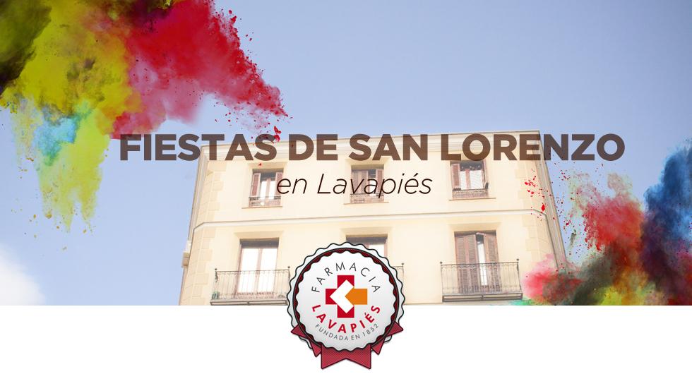 Fiestas de San Lorenzo en Lavapies