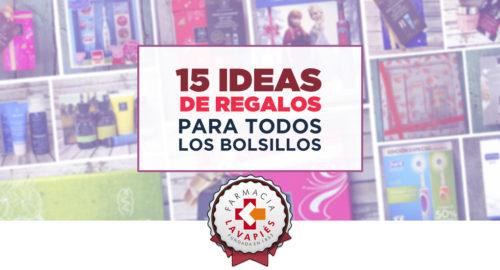 Ideas para regalos recomendados por Farmacia Lavapiéspara todos los bolsillos