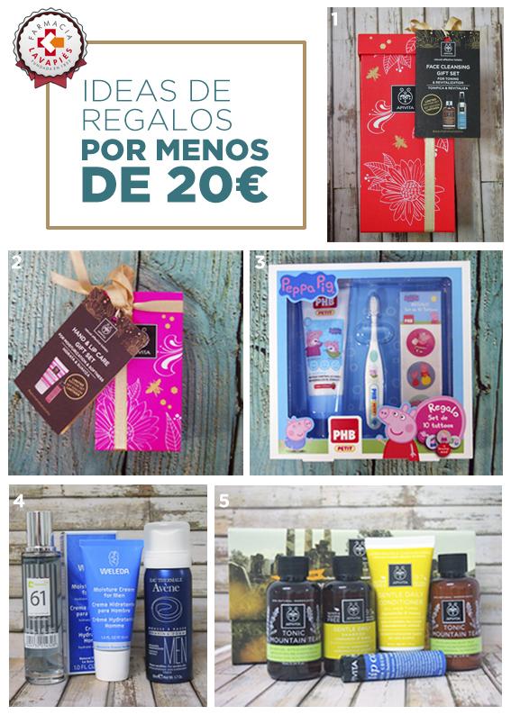 Ideas de regalos por menos de 20 euros que puedes encontrar en Farmacia Lavapiés