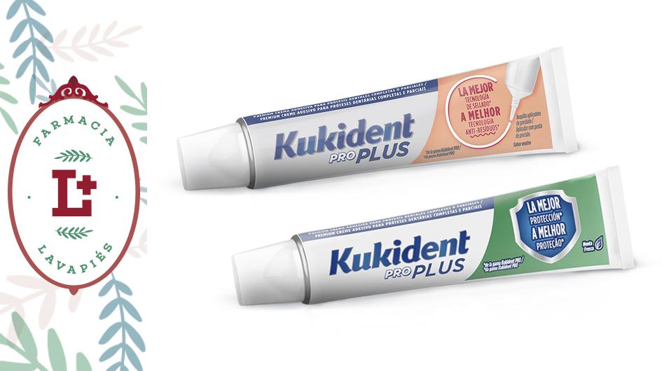 Kukident recomendado para personas con problemas de infiltración de comida