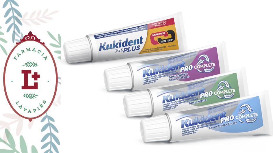 Kukident recomendado para personas con problema de movimiento de prótesis