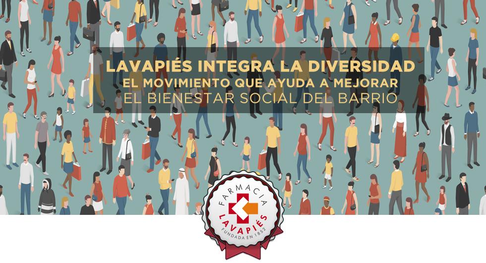 Lavapies integra la diversidad, movimiento para mejorar el bienestar social del barrio