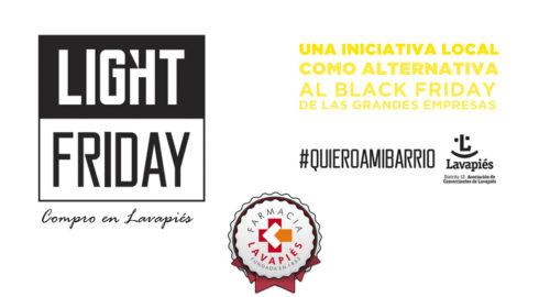 Light Friday la alternativa al Black Friday del comercio local de Lavapiés