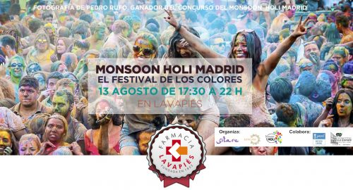 Monsoon Holi Festival 2016 en Lavapiés