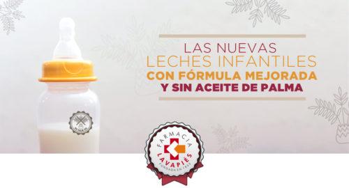 Leche infantil sin aceite de palma Nutriben Innova