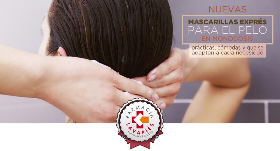 Nuevas mascarillas expres para el pelo de apivita, tonifican, dan brillo e hidratan, Recomendadas por Farmacia Lavapies