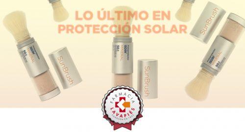 Protector solar SunBrush Mineral de Isdin recomendado por Farmacia Lavapies