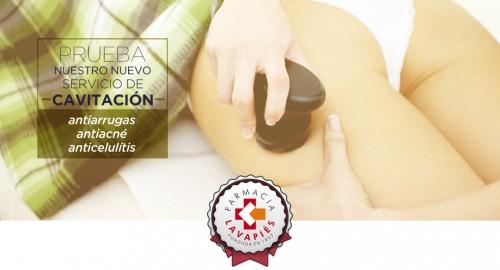 Servicio de cavitación y Radiofrecuencia antiarrugas antiacne y anticelulitis en la Rebotica de Lavapies Madrid