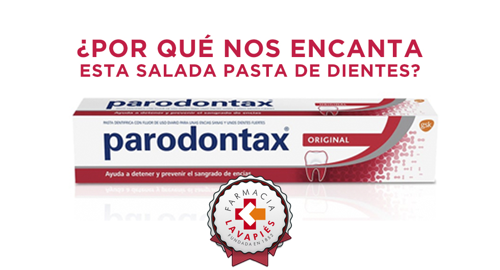 Pasta de dientes Parondotax para cuidar las encias