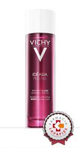 Nuevo peeling de noche de idealia activador de luminosidad de vichy recomendado por Farmacia Lavapies