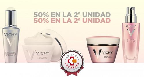 Oferta de productos de vichy para una piel ideal en Farmacia Lavapiés