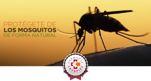 Protección antimosquitos de forma natural recomendadas por Farmacia Lavapies