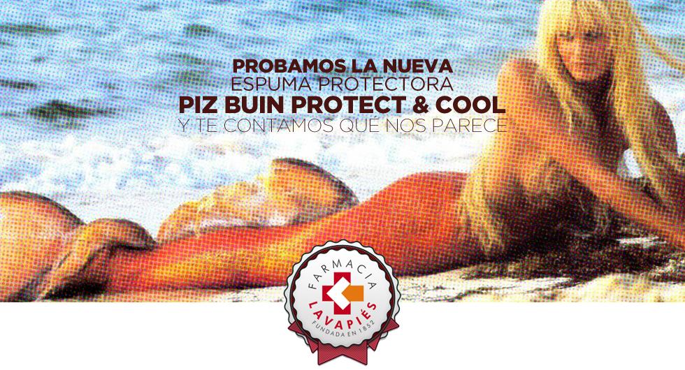Nuevo Piz Buin Protect & Cool, opinion de la nueva proteccion solar que refresca tu piel