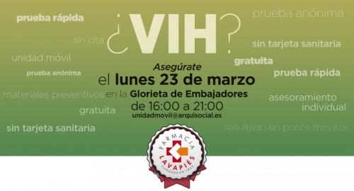 Prueba VIH gratuita en Madrid