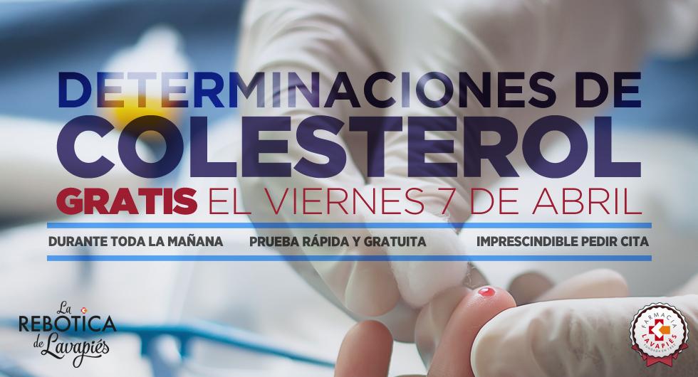 Pruebas de colesterol gratuitas en Farmacia Lavapiés