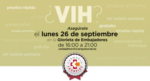 Pruebas VIH y sifilis gratuitas en Madrid