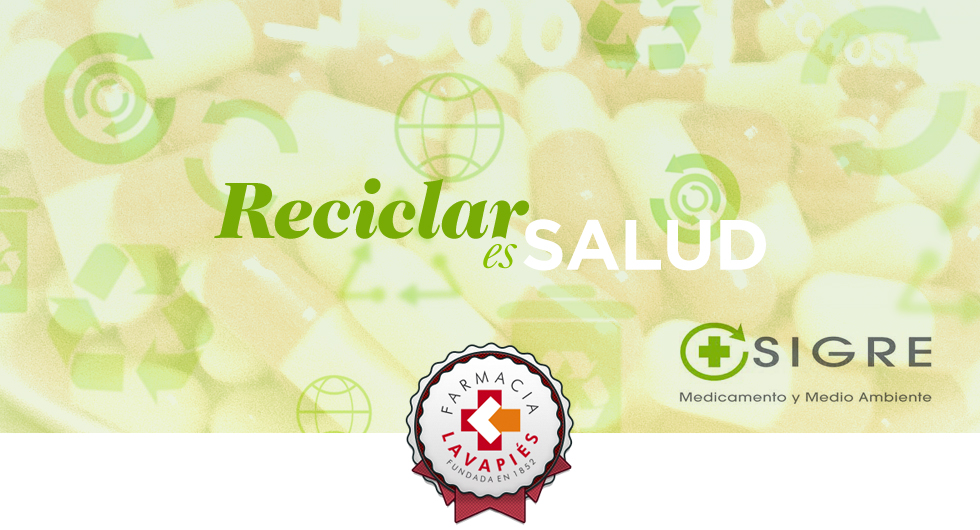 Que hacer para reciclar medicamentos caducados