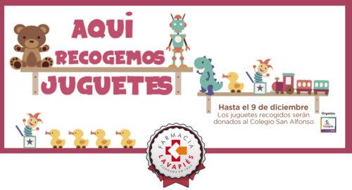 Recogida solidaria de Juguetes en Lavapiés