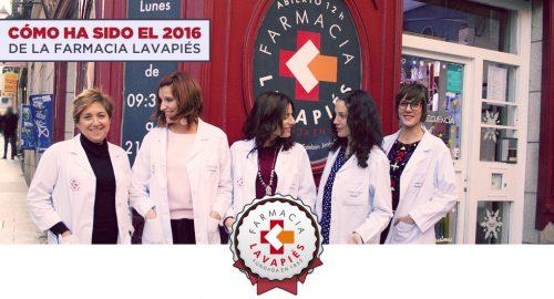 Resumen de cómo ha sido el año 2016 en la Farmacia Lavapiés