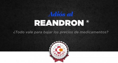 Retirada testosterona inyectable Reandron