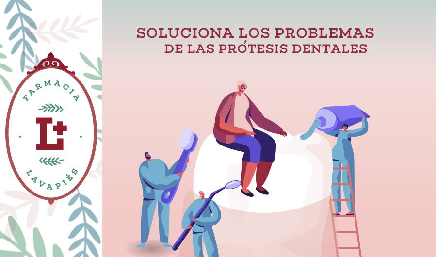 Soluciones a los problemas de las protesis dentales