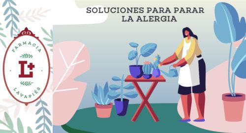 Soluciones para parar la alergia primaveral