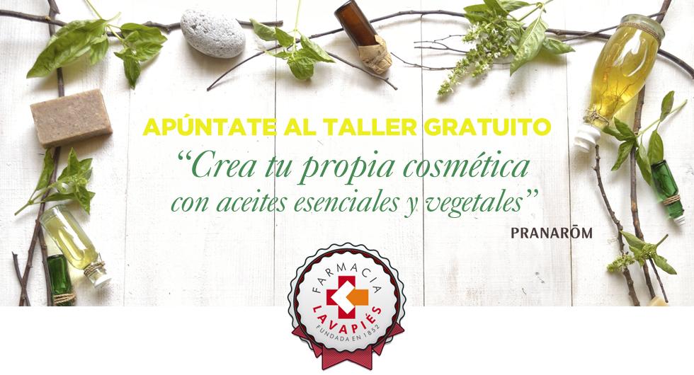 Taller de aromaterapia y cosmética del laboratorio Pranarôm en colaboración con La Farmacia Lavapies