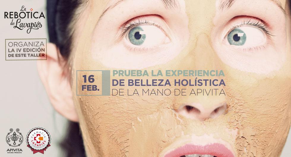 Taller belleza holística con Apivita gratis en Farmacia Lavapiés en Febrero