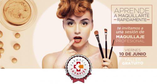 Taller de maquillaje rápido gratis con Beter Look Expert en Farmacia Lavapies