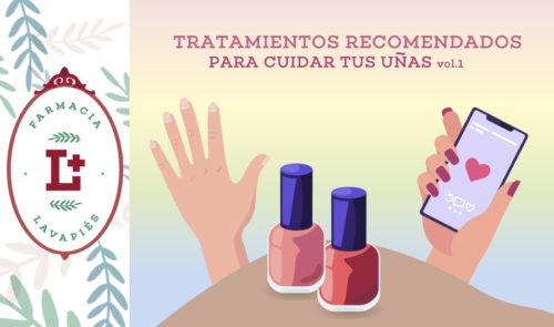 Tratamientos recomendados para cuidar uñas