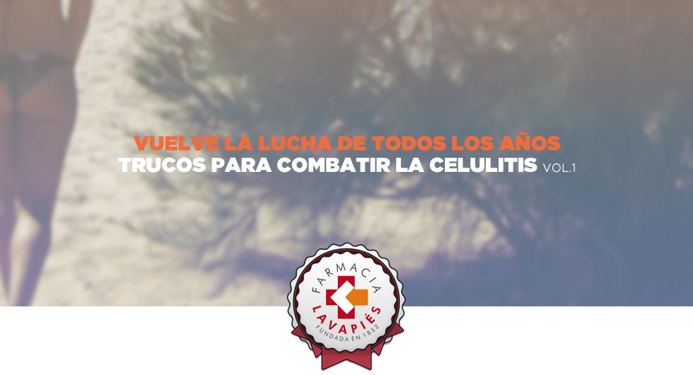 Trucos para combatir la celulitis de Farmacia Lavapiés