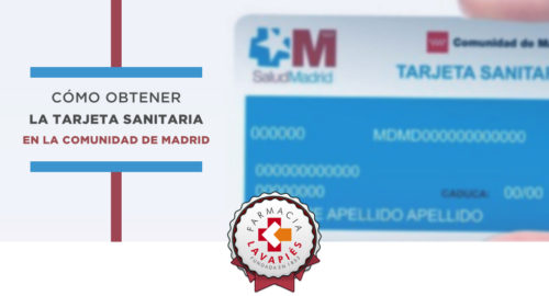 Como obtener la tarjeta sanitaria en la Comunidad de Madrid