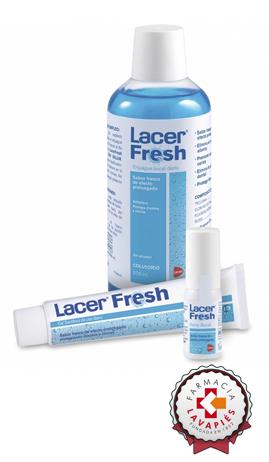 Enjuague bucal lacer fresh