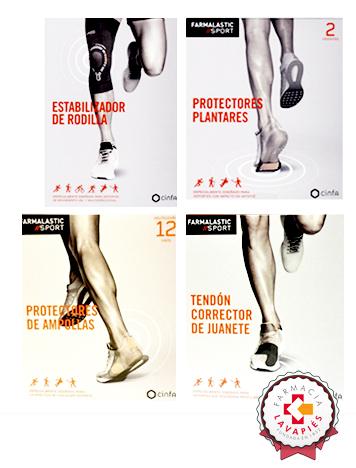 Estabilizador de rodilla protector plantar y de ampollas y corrector de juanete de Farmalastic de venta en Farmacia Lavapiés