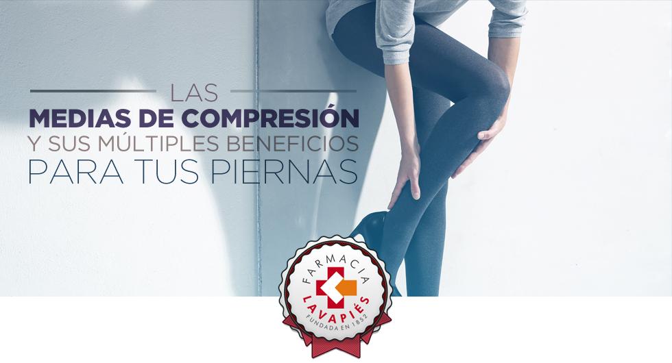 Las medias de compresión Farmaelastic pueden ayuda para las piernas cansadas y con varices en Farmacia Lavapies