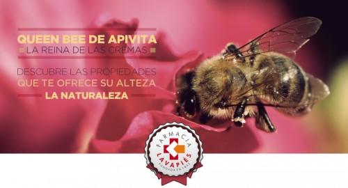Nueva crema Queen Bee de Apivita mejorada y sus propiedades. Farmacia Lavapies