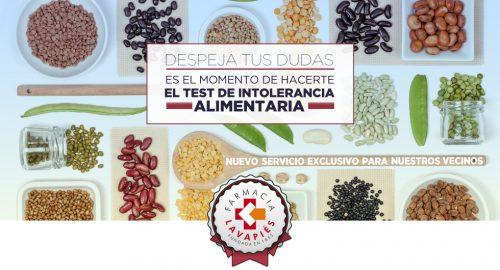 Test intolerancia alimentaria en Madrid, Farmacia Lavapiés