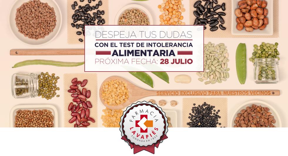 test intolerancia alimentos en Madrid, servicio de la farmacia Lavapiés